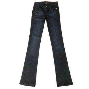 Paige Manhattan Slim Bootcut Jeans 25